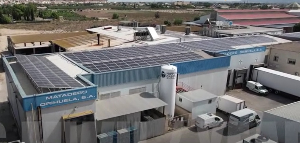 Vídeo de la instalación fotovoltaica
