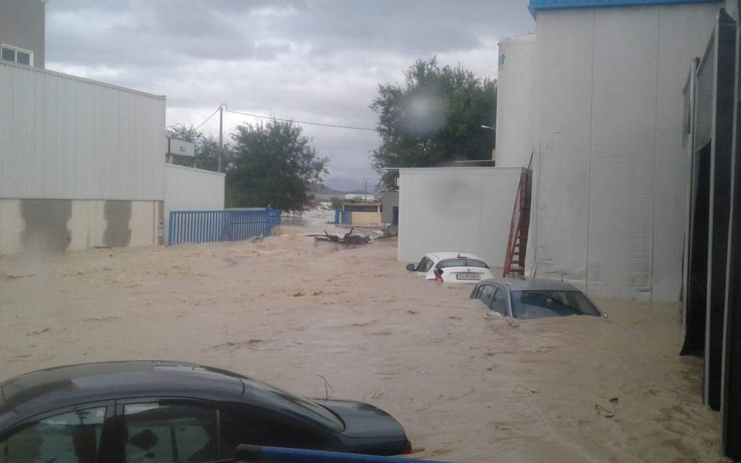 Las inundaciones del 12 y 13 de septiembre afectan gravemente al Matadero de Orihuela